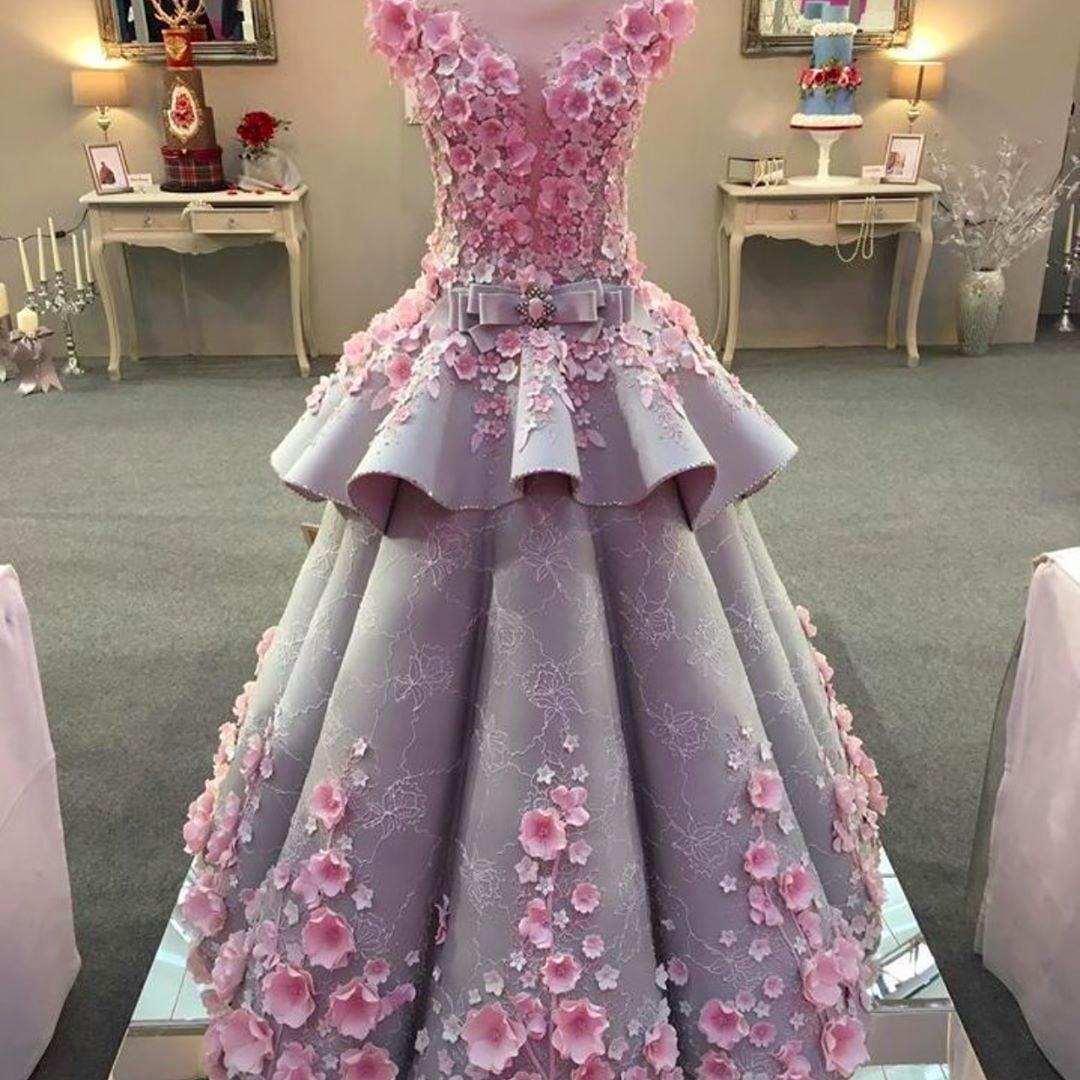 Wedding-Dress Cakes | POPSUGAR Food