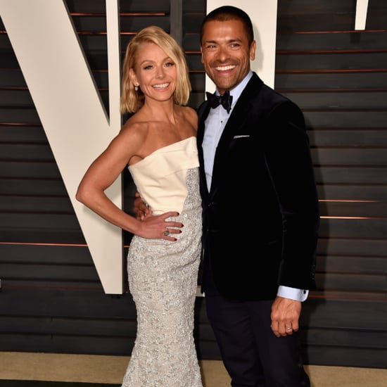 Kelly Ripa Mark Consuelos Swimming Instagram Video