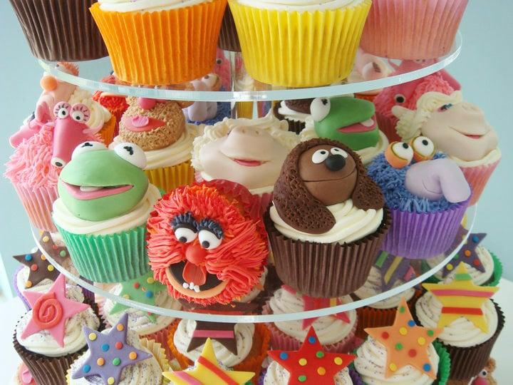 Muppet Cupcakes