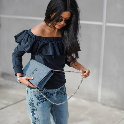 The Biggest Denim Trend of the Season