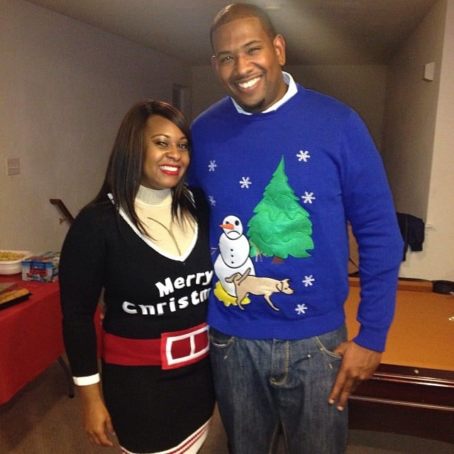 The Woman Who Supplemented Her Christmas Sweater With Fake Cleavage