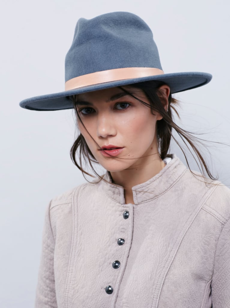A Wide-Brimmed Hat