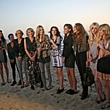 The girls headed to Santa Monica for the first challenge of the episode.  Photo courtesy of CW