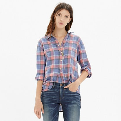 Rivet & Thread Flannel Shirt in Harvey Plaid