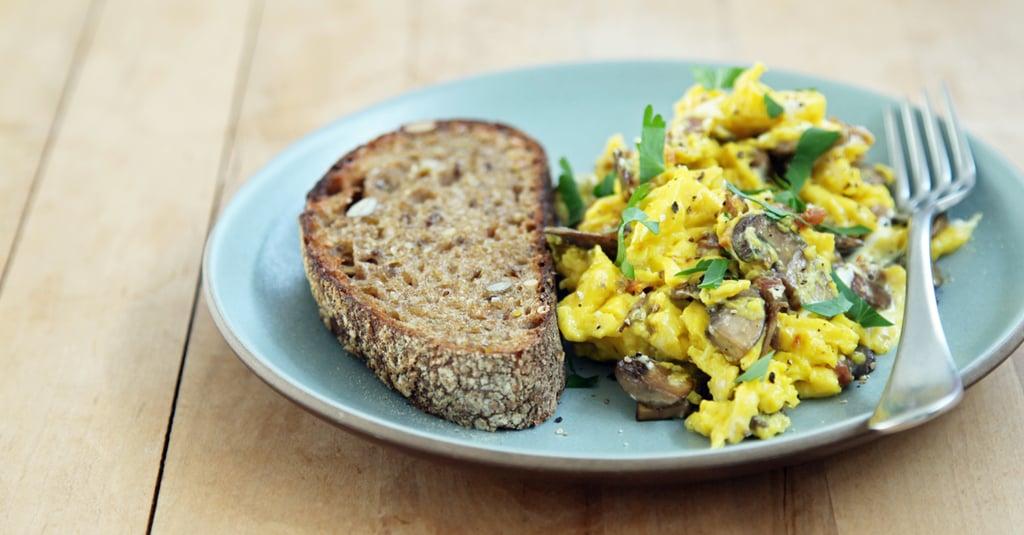 Scrambled Eggs With Wild Mushrooms