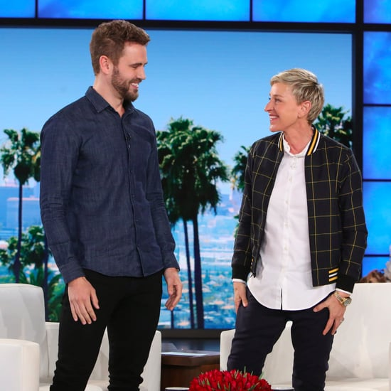 The Bachelor's Nick on The Ellen DeGeneres Show Feb. 2017