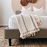 Sophie 100% Turkish Cotton Throw Blanket