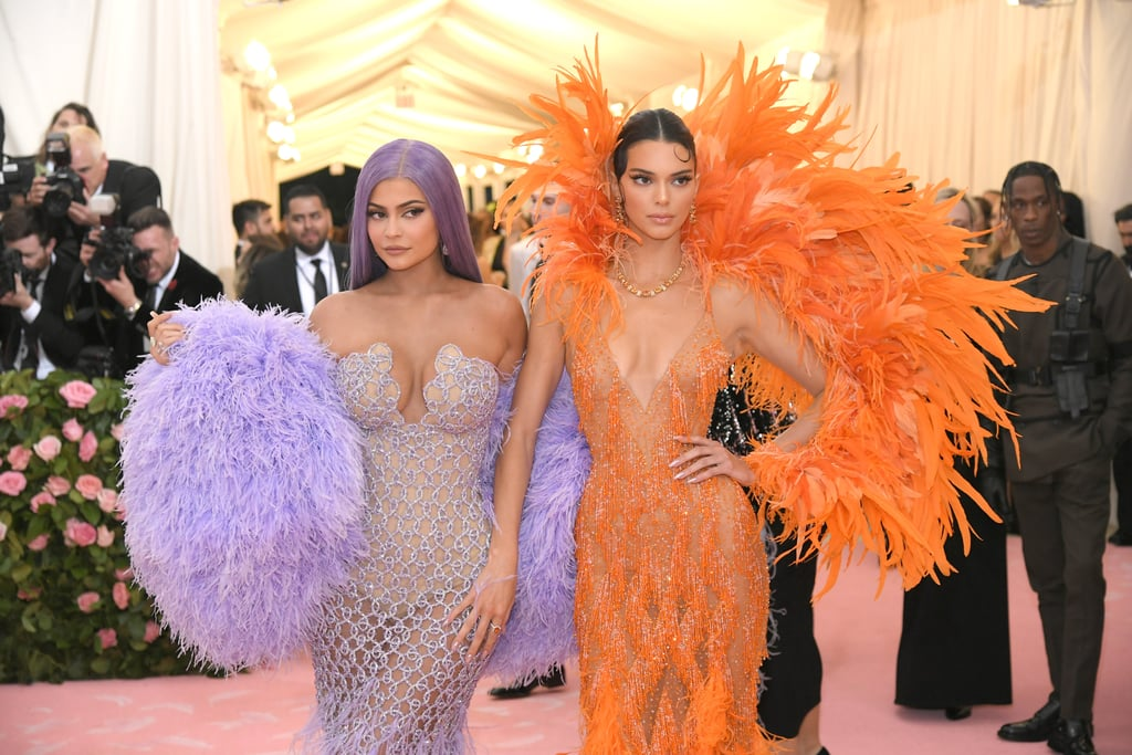Kendall and Kylie Jenner at the Met Gala 2019