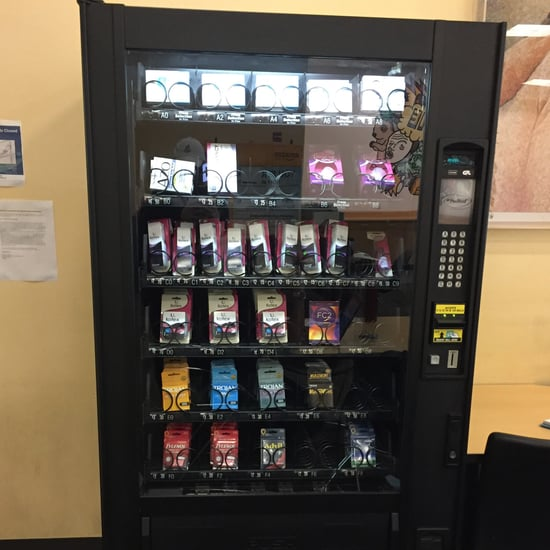 College Plan B Vending Machine