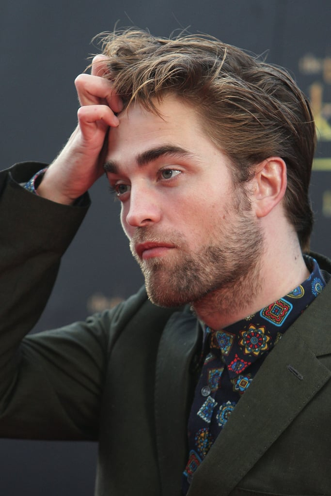 Robert Pattinson was in Sydney to promote Breaking Dawn Part 2.
