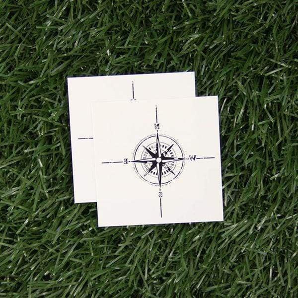 Tattify Compass Tattoo