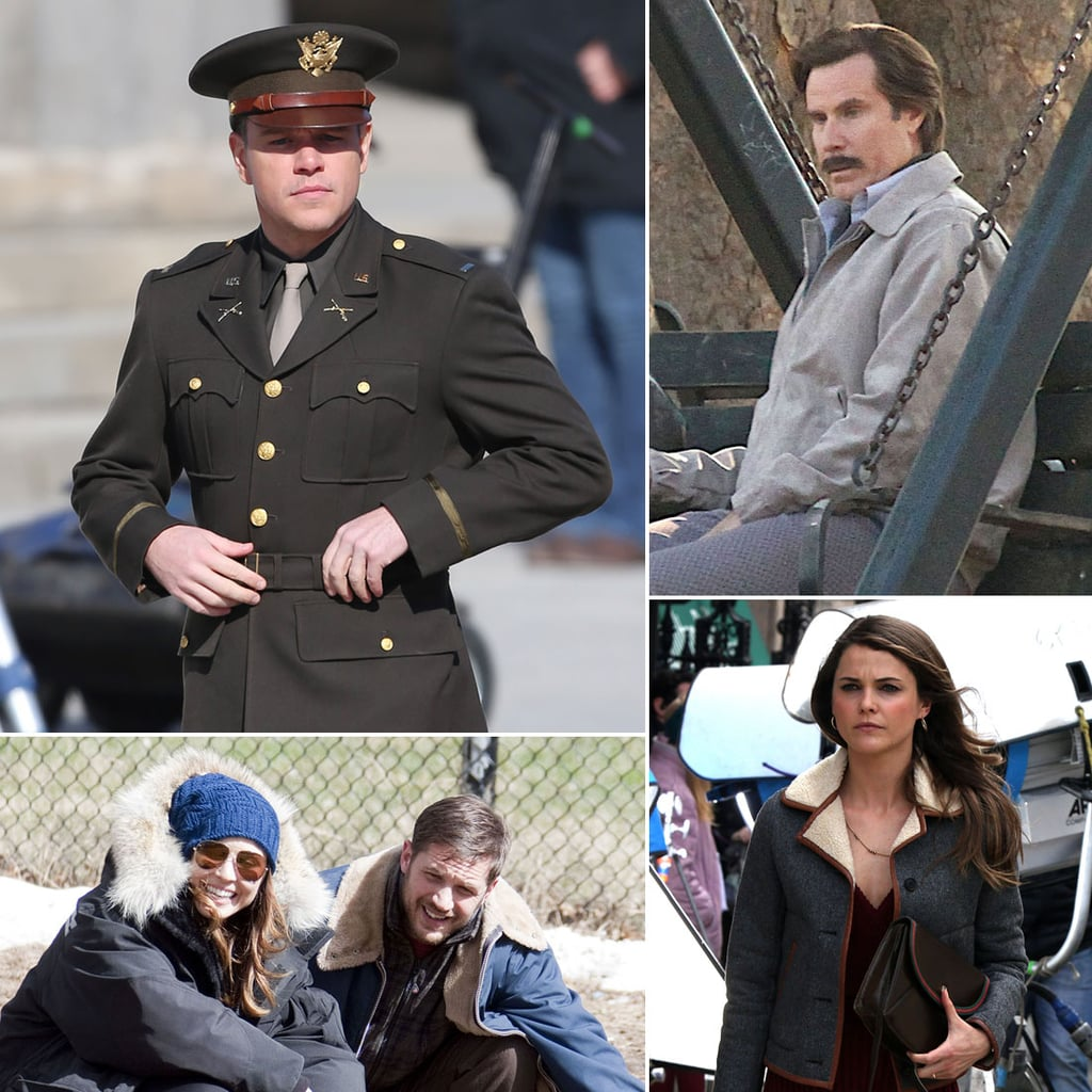 Celebrities on Set | Week of March 29, 2013