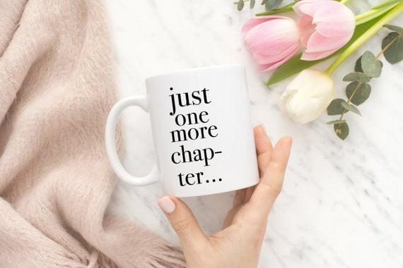 Just One Chapter Mug