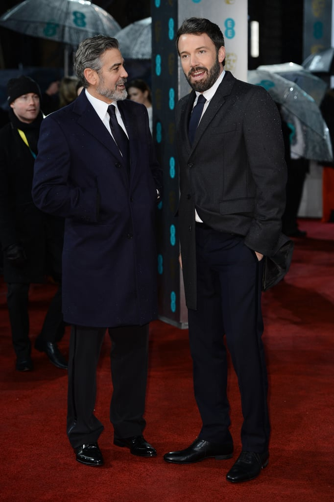 Ben Affleck and George Clooney hit the red carpet side by side.