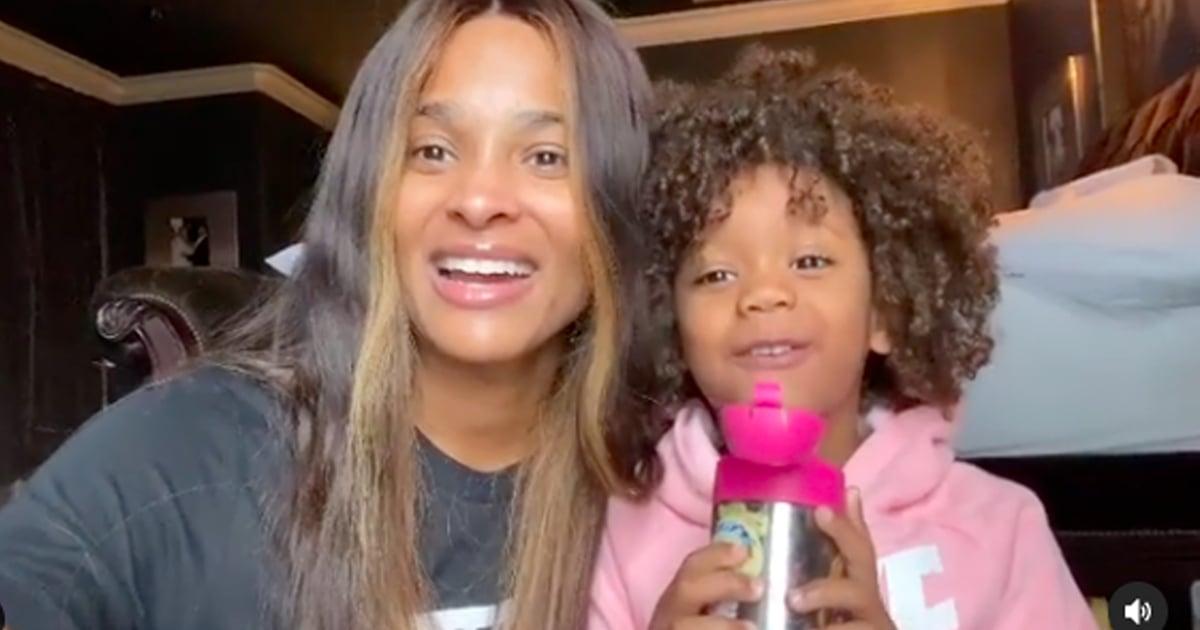 Ciara Filmed the Joyful Moment She Told Her Daughter About Kamala Harris's Historic VP Win
