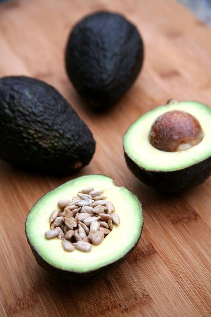Avocado With Sunflower Seeds
