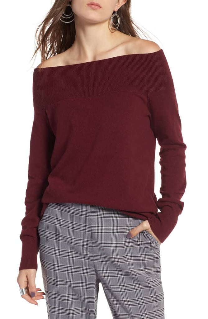 Treasure & Bond Off-the-Shoulder Sweater