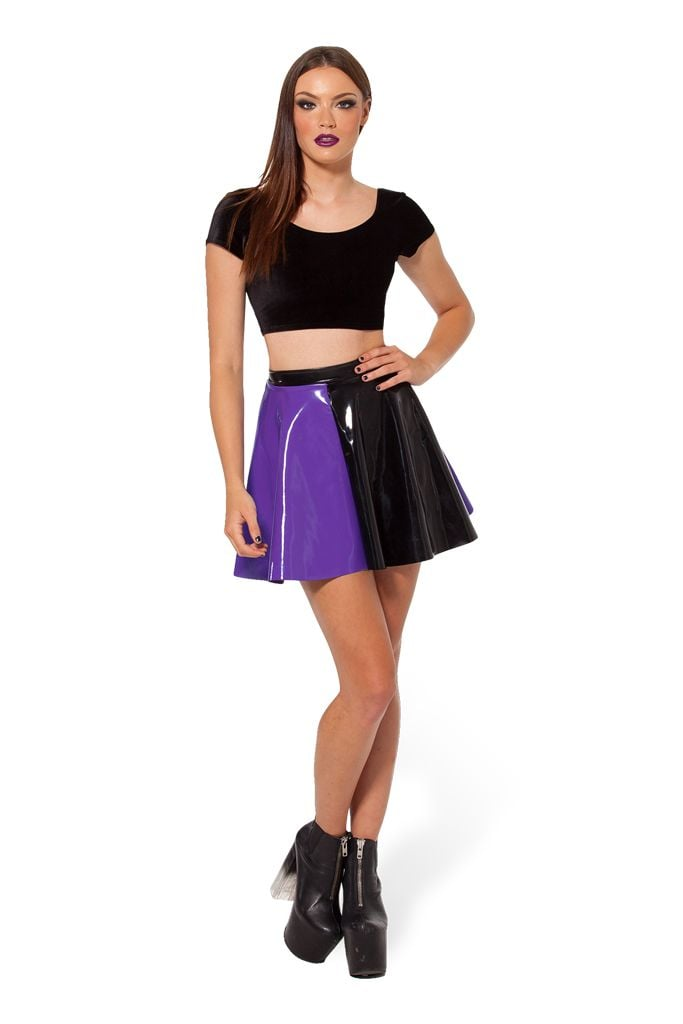 Jester purple skater skirt ($53)