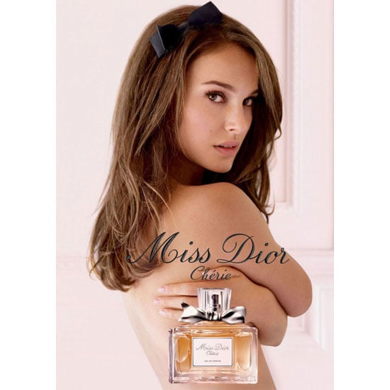 Natalie Portman Topless in the New Miss Dior Cherie Fragrance Ad