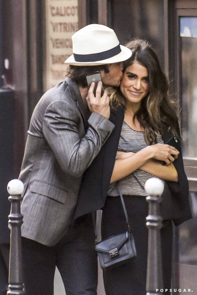 Ian Somerhalder and Nikki Reed spent their Memorial Day weekend in Paris. Fresh off their superb appearance at the Cannes Film Festival, the couple kicked off their Parisian getaway by sneaking in sweet PDA amid the picturesque city streets. It's only been a month since their lavish wedding in Malibu at the end of April, but they've already packed so much into their new life together. Prior to their stop in Cannes, the newlyweds honeymooned in Tulum, Mexico, and celebrated Nikki's 27th birthday. Keep reading for more pictures from their weekend, and keep the sweetness coming with their most loving moments together.