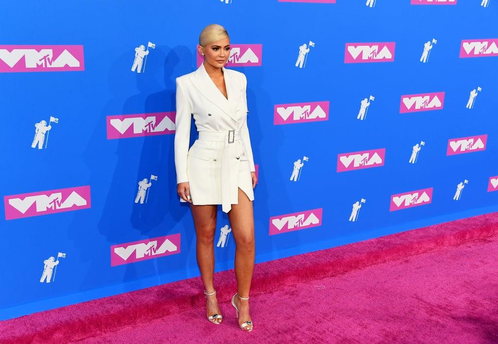 87fdf33236 Kylie Jenner s Dress at the MTV VMAs 2018