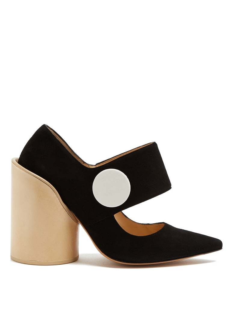 Jacquemus Les Chaussures Gros Boutons Suede Pumps ($649)