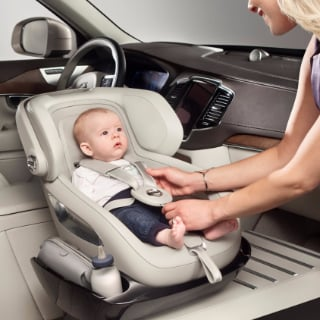 Volvo Introduces Child Seat Concept