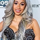 Cardi B's Warm Silver Wig