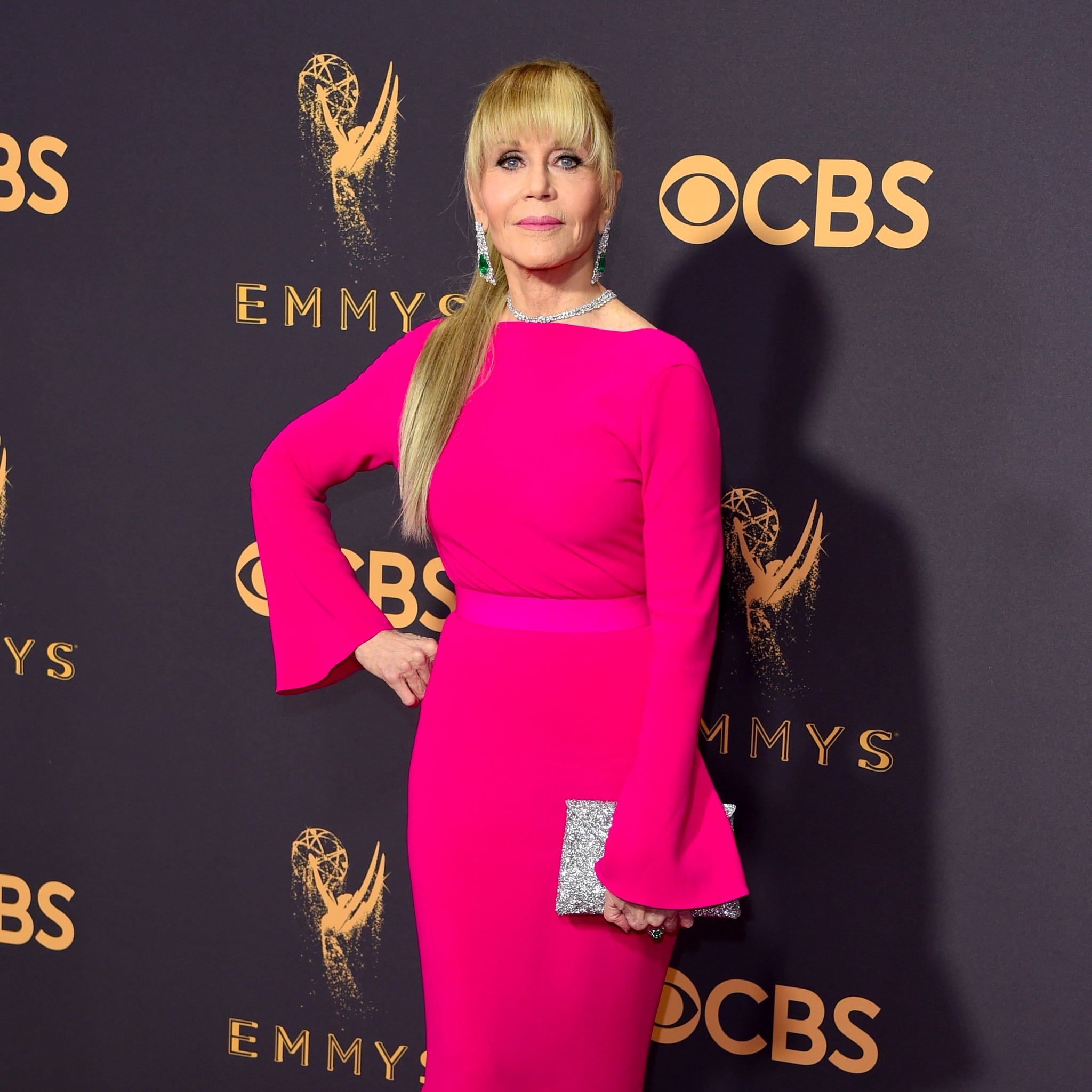 Jane Fonda\u0027s Dress at 2017 Emmys | POPSUGAR Fashion