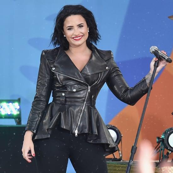 "Demi Lovato Singing ""Confident"" on Good Morning America"