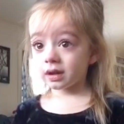 Video of Toddler Having a Meltdown