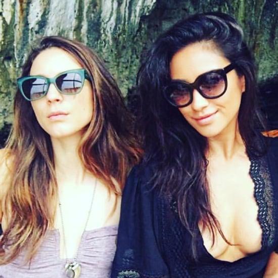Troian Bellisario's Bachelorette Trip Pictures 2016