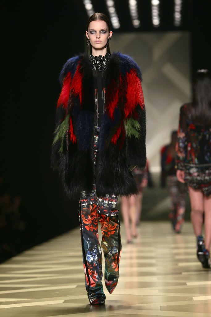 2013 Autumn Winter Milan Fashion Week Roberto Cavalli ...