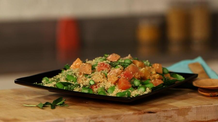 Asparagus and Quinoa Salad