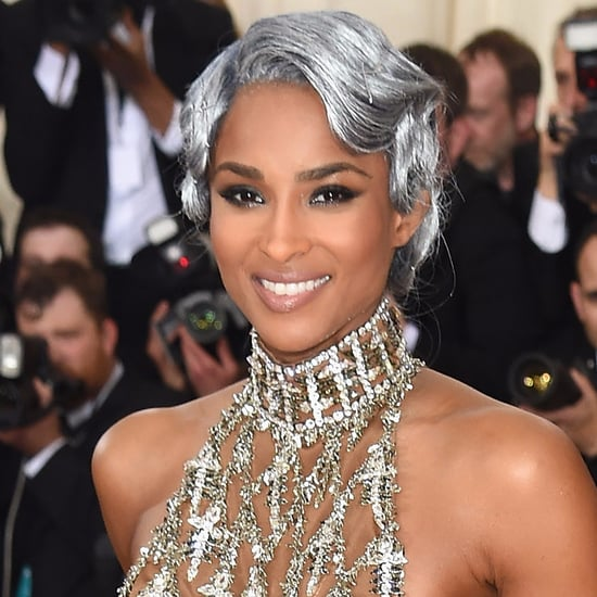 Ciara's Hair and Makeup at the 2016 Met Gala