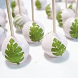 Tropical Palm Leaves Cake Pops