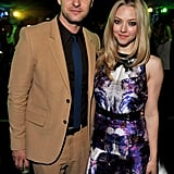Justin Timberlake and Amanda Seyfried at the In Time premiere party in LA.
