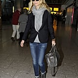 Gwyneth Paltrow Returns to London & Chris Martin | Pictures