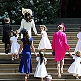 Kate Wrangling the Pageboys and Flower Girls, 2018