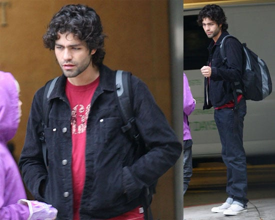 Adrian Grenier Is on His Way to Homeroom