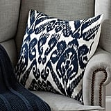This Pottery Barn Josie Ikat Embroidered Cushion Cover($80.95) is a dead ringer for the one's Caitlyn has.