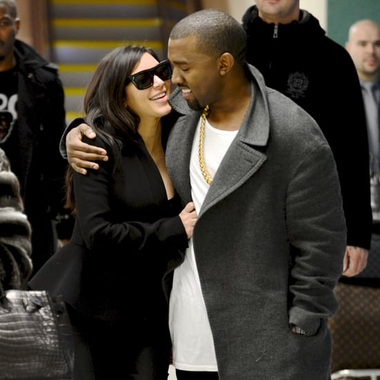 Kim Kardashian and Kanye West After Pregnancy Announcement