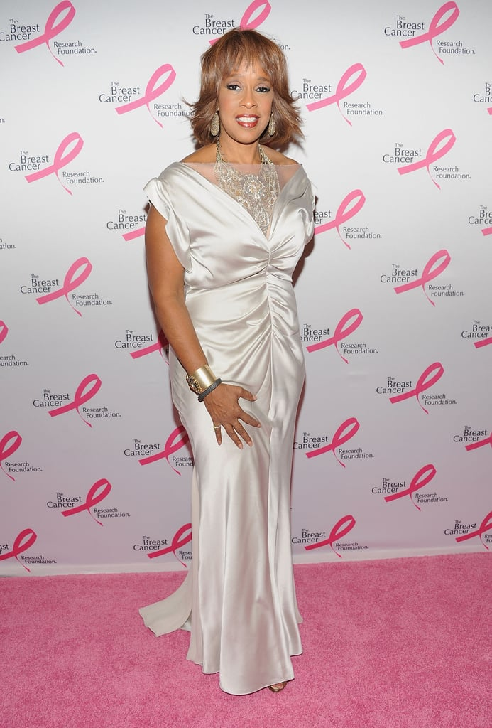 Gayle King dropped by the bash.