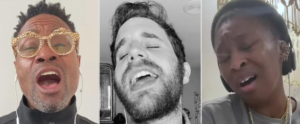 Ben Platt & Cynthia Erivo Sing in Saturday Night Seder Video