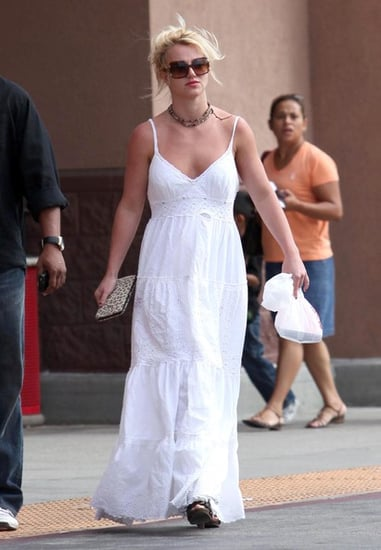 Britney Spears out and about