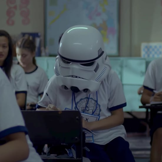 Rogue One #CreateCourage Ad With Girl in Stormtrooper Mask
