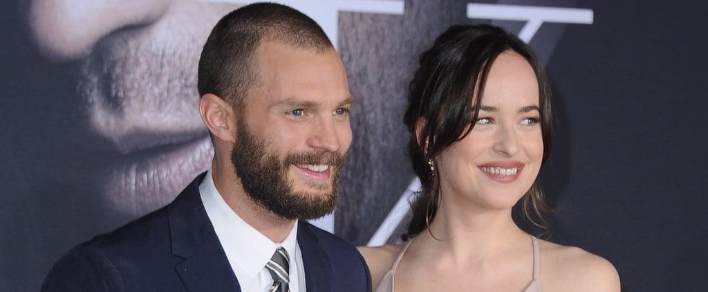 Jamie Dornan and Dakota Johnson Fifty Shades Darker Premiere