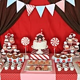 Gingerbread Christmas Holiday Dessert Table