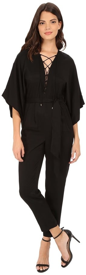 Rachel Zoe Mirabel Lace Up Jumpsuit ($635)