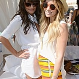 When She and Lea Michele Were Oh So Chic at Coachella